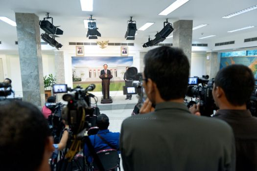 Press conference by afiphotograph