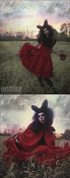 Little Bad Riding Hood III by Crooked-Angel