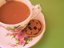 Tea and Cookies... by KisforKatieRose