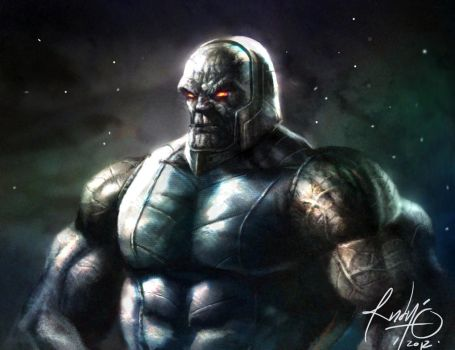 DARKSEID 2 by rudyao