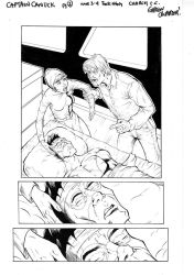 Captain Canuck page 1 by GibsonQuarter27
