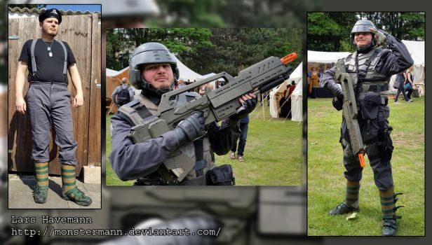 Starship Troopers - Mobile Infantry cosplay by Monstermann