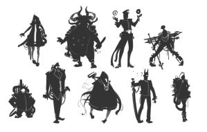 Aldebaran Unit Thumbnails by BrotherBaston