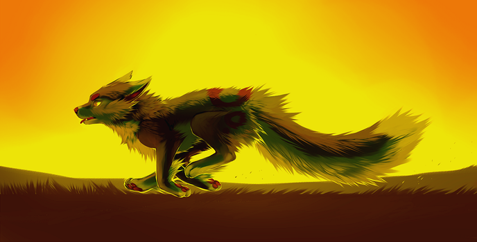 Run until the sun burns out. by AtomicFishbowl