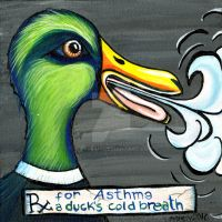 RX: A Duck's Cold Breath by Catsbah