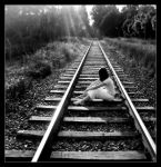 waiting for train II by superpitcher