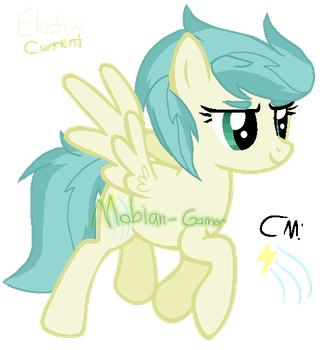 MLP NG Electric Current (Magicverse) by Mobian-Gamer