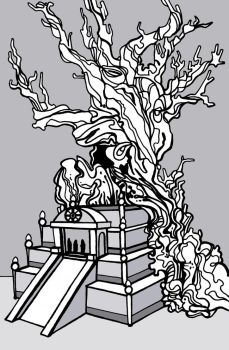 Summer Tree Temple of Babylon by disalvatron