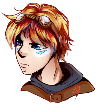 EZREAL by CrazySpartanKitten
