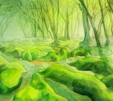 The Green Woods by Kiki-Tayler
