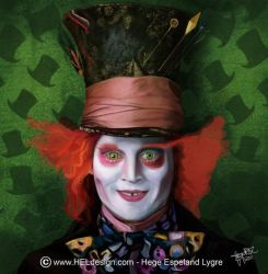 WIP2 - Johnny Depp-MadHatter by Tingeling13