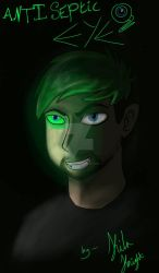 Antisepticeye  by Kila-Knight