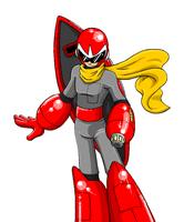 TE - Protoman by Twilight-Silvermoon