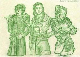 Comm-Inquisitors posing like F.Yeah by Blueberry-me