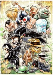 BATMAN BABY BADGUYS by Vinz-el-Tabanas