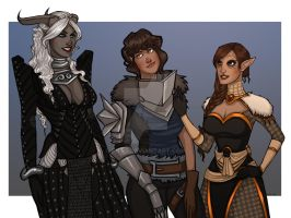 Commission: Of Inquisitors Champions and Heroes by Enife