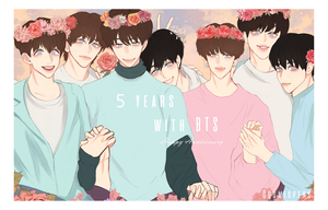 5 Years with BTS by Cosmicpens