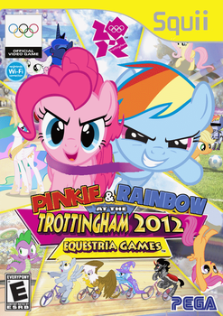 PP and RD at the Trottingham 2012 Equestria Games by nickyv917