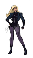Black Canary (Finished) by mrdauchberg