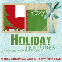 Holiday Textures by Cufla