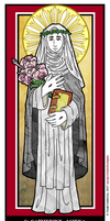St Catherine of Siena by NowitzkiTramonto