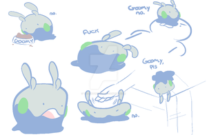 Goomy by TheLunarCrash