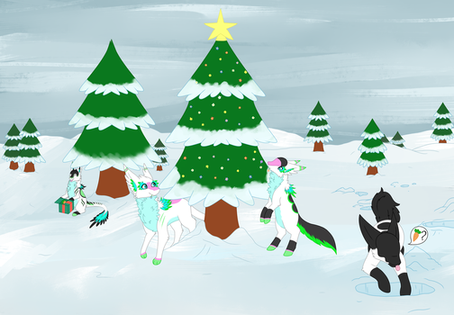 SecretSanta!! Late Christmas Celebration! by FearFoxDerek