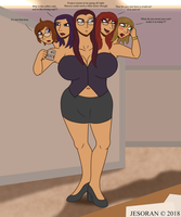MEGAN Quincy - The Multi-Headed Manager by Jesoran