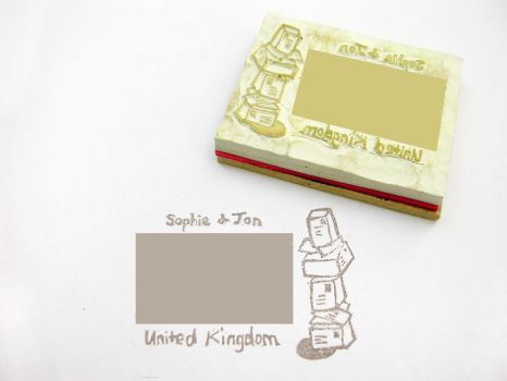 Address stamp by restlesswillow