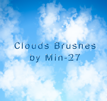 Clouds Brushes by Mintoons