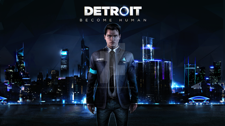 Detroit Become Human__Connor_Wallpaper Engine by SquatinaCaprium