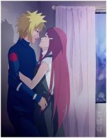 Minato x Kushina: Kiss in the night by AoiTorix
