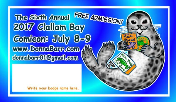 2017 Clallam Bay Comicon by DonnaBarr