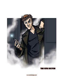 The 10th Doctor by Hodges-Art