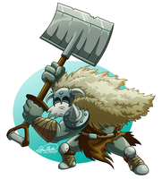 Polar Knight by Sawuinhaff