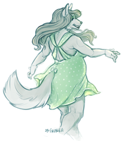 Sharn the Wolf by fralea