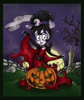 The Ghost Of The Pumpkin by DrewBlueberry