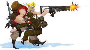 Metal Slug by thechulo