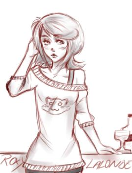 Roxy Lalonde because almost 2AM by AwesomeSpider8itch