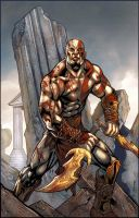 Kratos by Kevin Sharpe by RyanLord
