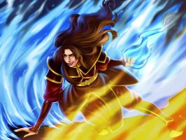 Princess Azula by AnnettaSassi