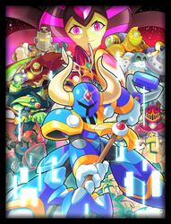 Commission: Shovel Knight X by ultimatemaverickx