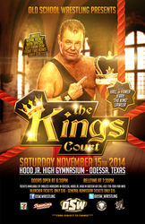 Old School Wrestling - Kings Court by TheIronSkull