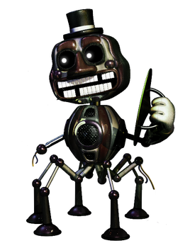 phantom Music Man by FnafKingOfCre