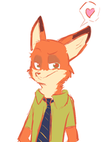 Nick by Cookie-and-her-foxes