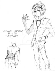Character Sketch: Jonas Barker by LucentAtelier