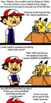 Ash and Pika's Spoilers Battle by Ticketmeister