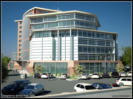 Office Building Part 2 by Semsa