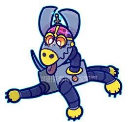 mechanical canine by HedgieMuffins