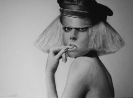 Lady gaga by corentin-brg